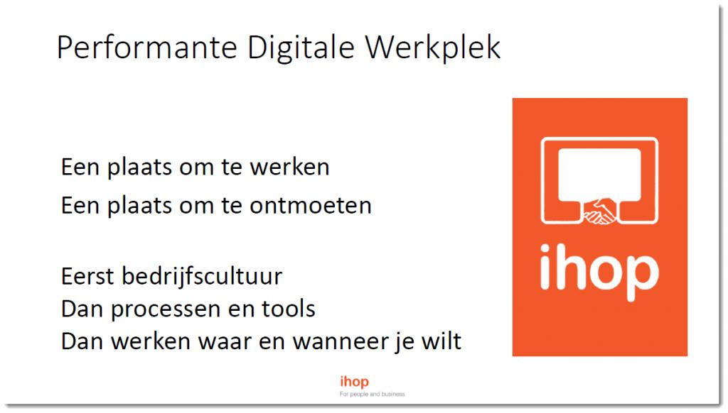 Slide Bart Performante Digitale Werkplek