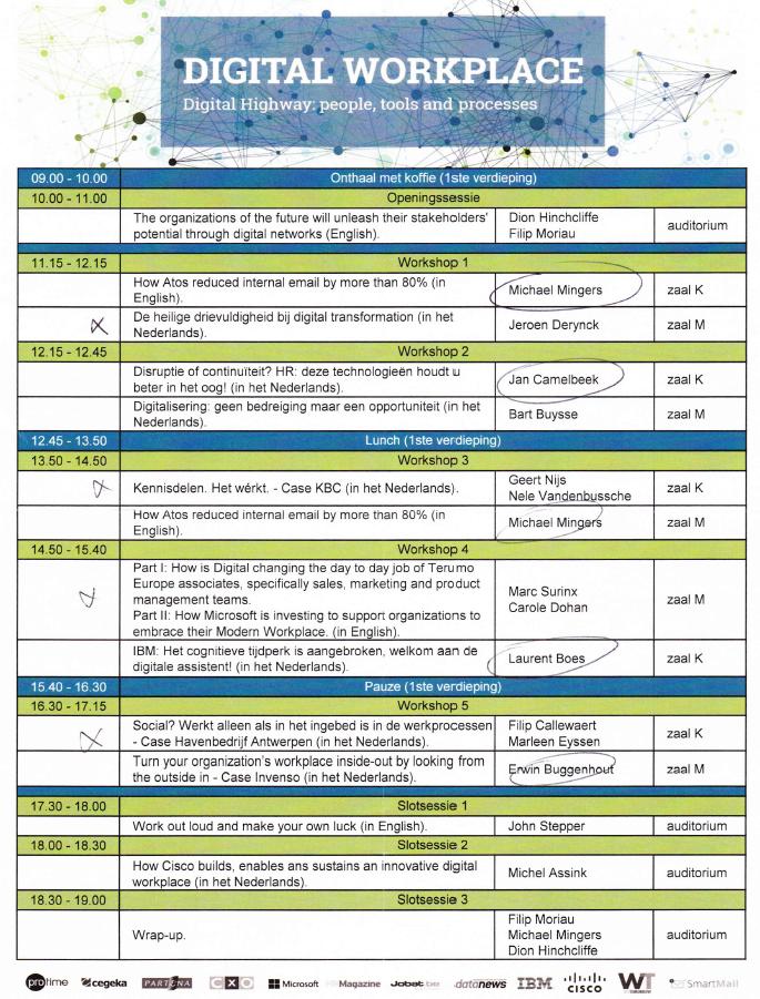 kluwerdw 2015 finale agenda