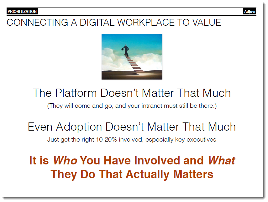 Dion Hinchcliffe kluwerdw connecting digital workplace to value