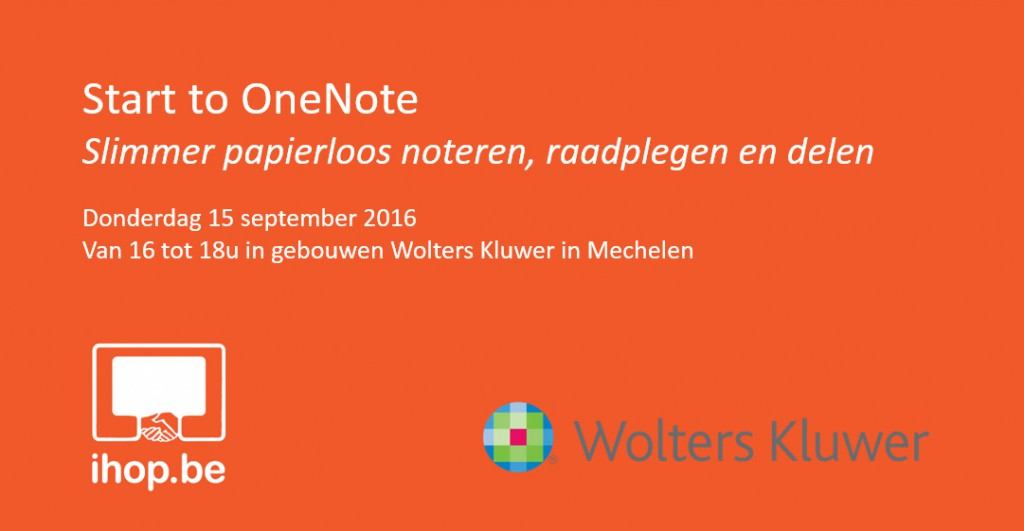 Start to OneNote 16 sept 2016