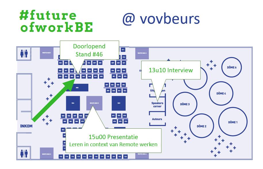 FutureofworkBE op de VOV beurs